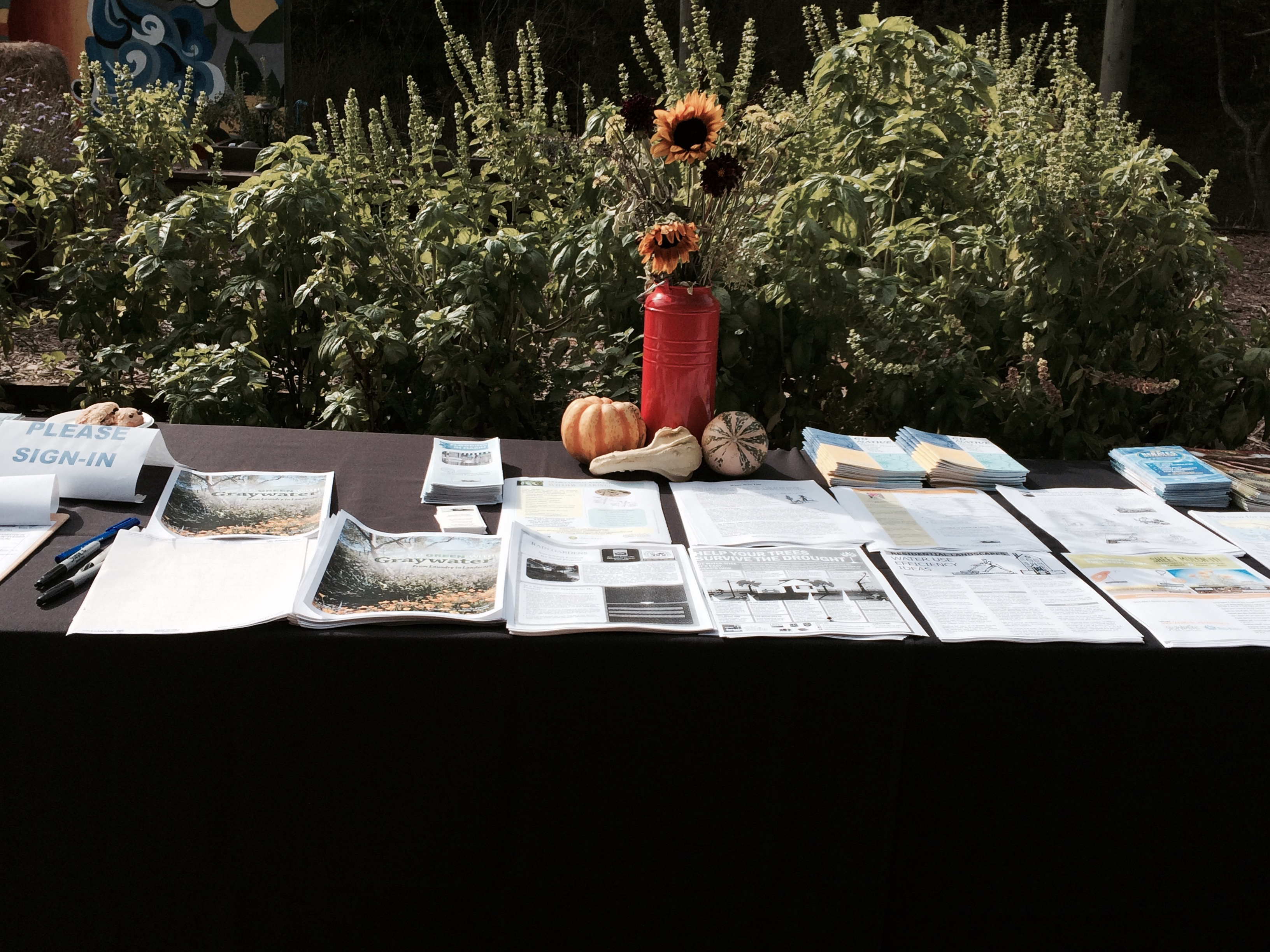WC - Info Table